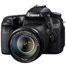 佳能(Canon) EOS 70D 单反套机 (EF-S 18-135mm f/3.5-5.6 IS STM镜头)
