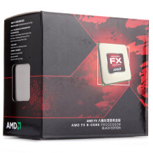 AMD FX系列 FX-8320 八核 AM3+接口 盒装CPU处理器