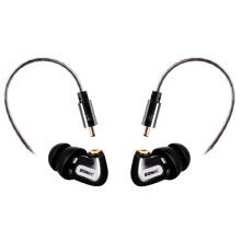 硕美科(SOMIC)MH415 入耳式后挂电脑手机耳机 舞台监听音乐耳塞 带话筒可通话 黑色