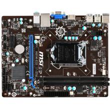微星(MSI) H81M-E33(Intel H81/LGA 1150) 主板