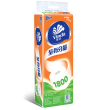 维达(Vinda) 卷纸 至有分量3层180g卫生纸*10卷