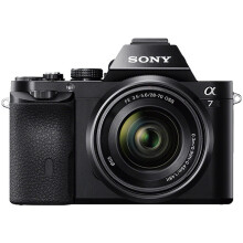 索尼(SONY)ILCE-7K 全画幅微单相机标准套机/照相机(约2430万有效像素 28-70mm镜头 1080P录像a7K/α7K)