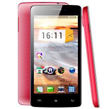 心迪 小七 X7 3G手机 TD-SCDMA/GSM 四核1G 智能手机 红色