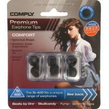 康派莱(COMPLY) TS-400 Ts-Series系列手机耳机专用耳棉 黑色