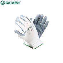 世达(SATA)FS0403丁腈手套(掌浸)9'