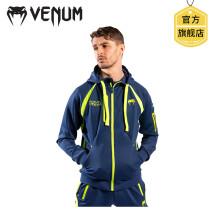 VENUM 毒液LOMA洛马琴科联名款卫衣 运动卫衣2020新款健身连帽卫衣 跑步拳击训练外套 蓝黄色 M
