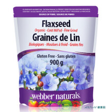 京东国际【加拿大直邮】Webber Naturals伟博冷榨有机亚麻籽粉900g