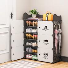蔻丝 ColesHome 简易鞋柜鞋架防尘超薄大容量组装鞋子收纳柜