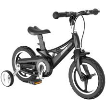 京东超市 健儿 儿童自行车男女款3-6-8岁宝宝脚踏车小孩单车童车JRZXC-01 16寸雅典黑 14寸雅典黑(适合身高95-125cm)