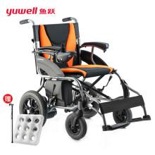 鱼跃(yuwell)电动轮椅车 老年人残疾人家用医用可折叠轻便老人智能全自动代步车D210BL
