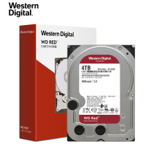 西部数据(WD)红盘 4TB SATA6Gb/s 网络储存(NAS)硬盘