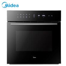 美的(Midea)极光嵌入式烤箱 家用 65L 智能APP操控 一键快速发酵  ET1065JG-01SE