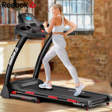 锐步(Reebok) 跑步机 家用静音可折叠减震运动健身器材 液晶显示器走步机阿迪达斯旗下品牌 GT40s
