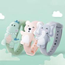 京东超市宝宝金水 儿童宝宝防护植物精油手环 3条装