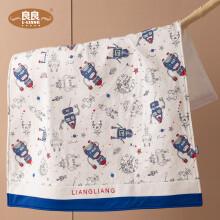 京东超市良良(liangliang)婴儿隔尿垫防水可洗新生儿棉质宝宝加大床垫星际动员90*70cm