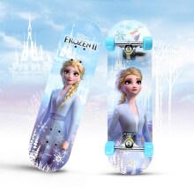 京东超市 迪士尼(Disney)休闲滑板儿童初学双翘板 四轮刷街代步公路板 冰雪奇缘 加宽双翘板-冰雪奇缘