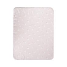 京东超市 全棉时代(PurCotton)婴儿针织隔尿垫 90cm×70cm 棉朵天鹅粉,1条装/袋