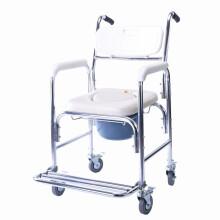 泰康洗浴椅老年人冲凉凳洗澡椅铝合金洗浴椅老人防滑孕妇残疾人沐浴椅浴室椅5802 坐便洗澡两用