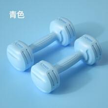 朗威 哑铃 女士 健身器材家用一对男士儿童瑜伽小 哑铃女 公斤套 青色 总重4kg=2kg两只