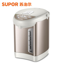 苏泊尔(SUPOR)电热水瓶 电热水壶烧水壶 5L容量 多段温控电水壶 双层防烫 304不锈钢开水壶 50S56A