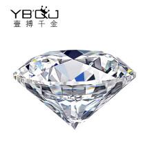 一搏千金 YBQianJin 求订结婚钻石戒指/情侣婚戒GIA裸钻/定制女款珠宝钻戒 40分D色/VS2/3EX/N