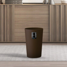 京东超市 阿司倍鹭(ASVEL)日本卫生间厨房家用垃圾桶 塑料小号客厅卧室收纳桶 褐色10L