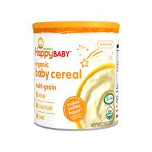 京东超市禧贝(happybaby)婴儿辅食有机混合谷物米粉宝宝营养米糊(6+月龄适用)198g