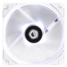 ID-COOLING XF-12025-SW 中心LED发光单体风扇 12cm温控减震白光