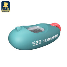 京东超市小白熊 婴儿多功能电子水温计儿童宝宝室温计潜水艇版 08382