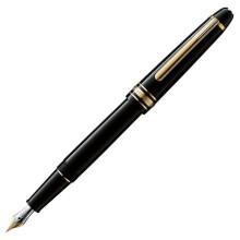 京东国际 万宝龙(MONTBLANC)大班系列签字笔钢笔男士镀金钢笔签字笔 德国进口 大班系列钢笔EF尖106511