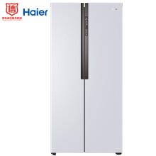 海尔(Haier)452升风冷无霜对开门冰箱 90度开门 66.5cm纤薄机身 低温净味 双温双控BCD-452WDPF