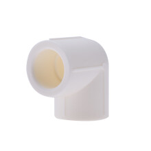 伟星 PPR 管件25 6分配件 PPR水管配件水暖管【90度弯头25/6分白色1个】