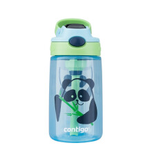 京东超市 美国contigo康迪克儿童吸管塑料水杯夏季运动便携水杯400ml外星人HBC-GIZ172 【普惠版】熊猫