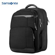 新秀丽双肩包男女电脑包14寸商务背包笔记本包Samsonite旅行包36B黑色
