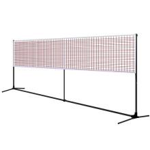 靓健羽毛球网架/网柱移动便携式 羽毛球架子含网 标准单打5.1米 赠羽毛球网