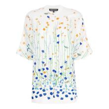 京东国际MARKUS LUPFER 女士 Drew Underwater Garden 衬衫 白色 UK6