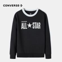 Converse匡威儿童长袖卫衣男童套头长袖上衣打底衫CNVB-FW-9590 正黑色130(7)