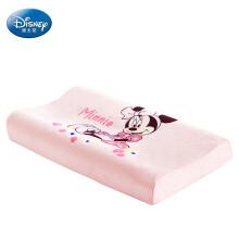 京东超市 迪士尼宝宝(Disney Baby)儿童乳胶枕婴儿枕头 天然宝宝定型枕 3-6岁 童趣宣言乳胶枕 浅粉米妮