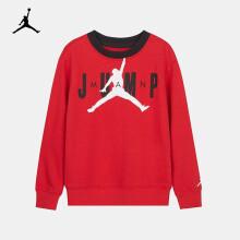 Nike Air Jordan 耐克童装男童卫衣春秋儿童圆领套头卫衣10-12岁150/72杰斯特红大童
