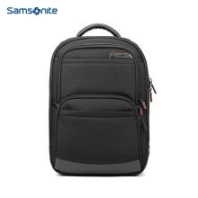 新秀丽双肩包男女电脑包14英寸商务背包笔记本包Samsonite旅行包36B黑色