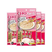 京东超市伊纳宝零食幼猫啾噜猫条 金枪鱼14g*4*3包
