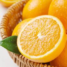 应季鲜甜橙子 精选5kg装单果200-250g 礼盒装 新生鲜水果