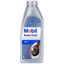 美孚(Mobil)美孚刹车油 DOT3 1L 汽车用品 刹车油DOT3 1L