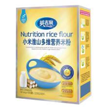 英吉利米粉0度小米营养米粉辅食婴儿米糊宝宝米粉225g初期-36个月 小米淮山225克