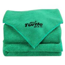 龟牌洗车毛巾擦车布汽车专用不掉毛吸水内饰抹布工具用品(五条装)