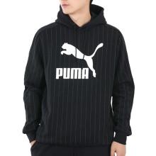 彪马 PUMA 男子 生活系列 PINSTRIPE AOP Hoodie 运动 卫衣 530179 01 L码(欧洲码)