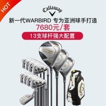 Callaway卡拉威高尔夫球杆男 男士套杆WARBIRD5高尔夫球杆套装 R+R