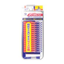 日本进口丹特博DENTALPRO牙师傅牙缝刷齿间刷I型15支SSSS-LL号 S 1.0MM