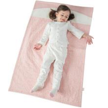 良良(liangliang) 婴儿隔尿垫乐优麻棉初生儿宝宝尿垫粉色110*72cm