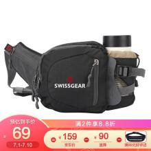 SWISSGEAR腰包 防泼水户外运动包腰包 男时尚胸包单肩包 SA-9834黑色